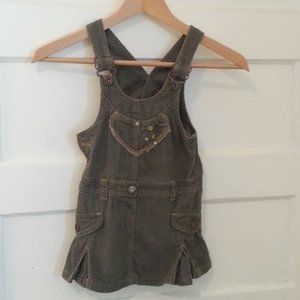 4 for $25/Grey Mexx courdoroy dress - size 2/3T